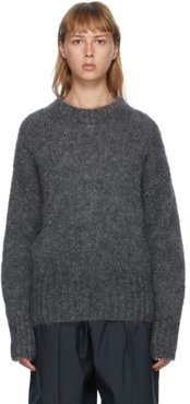 Grey Mohair Estelle Sweater