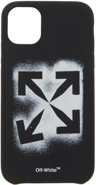 Black Stencil iPhone 11 Case