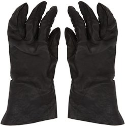 Black Vegetable-Tanned Gloves