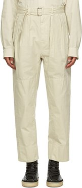 Off-White 4 Pleats Trousers