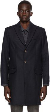 Navy Magnus Coat