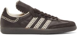 Black adidas Originals Tongue Samba Sneakers