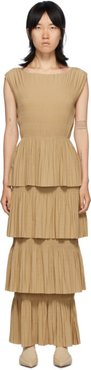Tan Aramon Dress