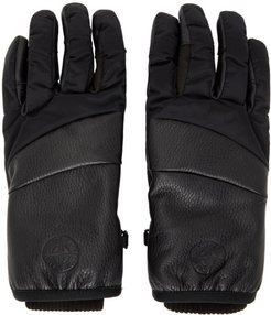 Black Nylon Metal Gloves