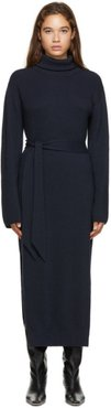 Navy Canaan Turtleneck Dress