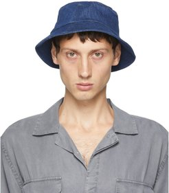 Indigo Denim Earl Bucket Hat