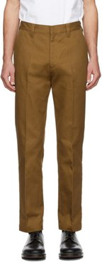 Brown Carhartt WIP Edition Canvas Trousers