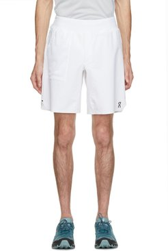 White Clubhouse Lightweight Shorts