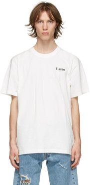 White Definition T-Shirt