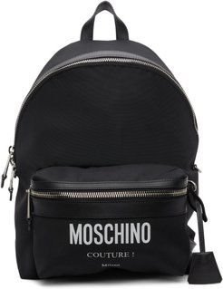 Black Cordura® Couture Backpack