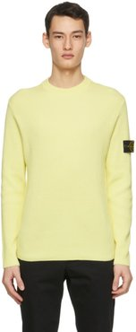Yellow Rib Knit Sweater