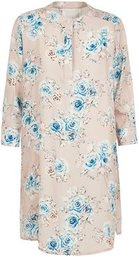 Shirt Dress In Pale Pink