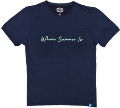 Whereabout T-Shirt - Navy