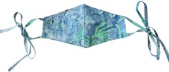 Brunna. Co - Hula 3-Ply Cup Batik Tie-Dye Face Mask With Adjustable Ear Ties