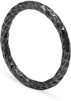 Black Faceted Band