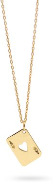Ace Of Heart - Necklace In 14K Yellow Gold