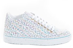 Chi Rainbow Leopards High Top Trainers