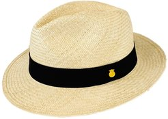 Fedora Genuine Panama Hat 'Classic Natural' Rollable