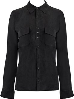 The Black Signature Blouse