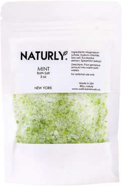 Mint Bath Salt Satchet