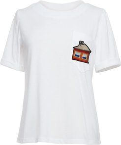 Marcali House Embroidery T-Shirt