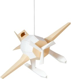 Seaplane Diy Pendant Paperlamp Kit In Caramel