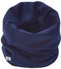 100% Traceable Superfine Merino Snood In French Navy