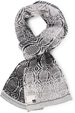 Sophisticated Cotton Scarf, Elements-Rock.