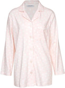 Mallow Brushed Cotton Pj Top