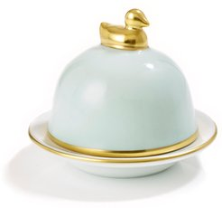 Butter Dish With Canard