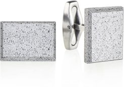 Falcon Concrete & Surgical Steel Cufflinks Grey