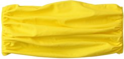 Brunna. Co - Maskana Uv50 Waterproof Gaiter Face Mask, In Bee Yellow