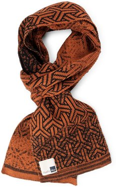 Soiphisticated Cotton Scarf, Elements-Rust.