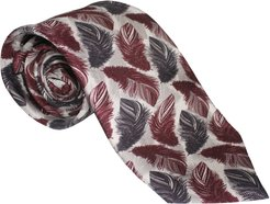 The Feather Tie Maroon