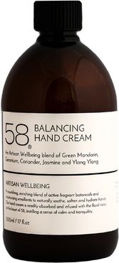 58 Hydrating Hand Cream With Extracts Of Coriander Seed & Green Mandarin 500 Ml