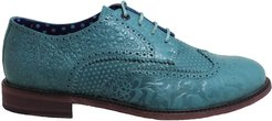 Follie Brogue In Teal