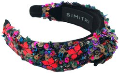 Floral Kitsch Knotted Headband