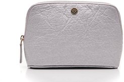 Fleur Beautycase Pinatex In Silver
