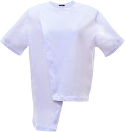 Padded T-Shirt In White