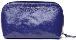 Tag Along Travel Case In Purple Patent Leather