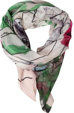 Reach Silk-Cotton Scarf