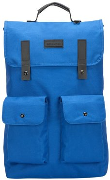 Twin Front Pocketed Backpack Blue