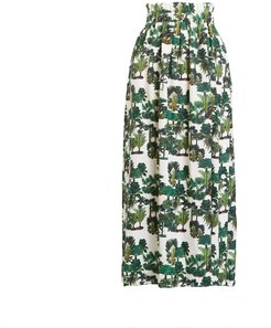 Open Sides Palm Trees Skirt