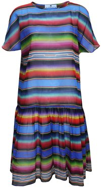 Greta Dress Marfa Sunset Print / Cotton Voile