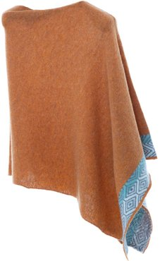 Gold Wave Poncho