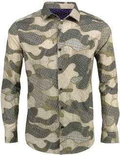 Norman In Dot Camo Camel