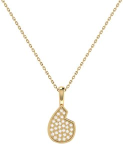 Street Cycle Pendant In 14 Kt Yellow Gold Vermeil On Sterling Silver
