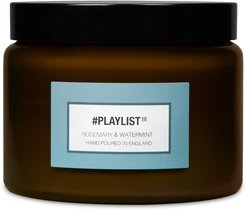 #Playlist Rosemary & Water Mint Luxury Candle
