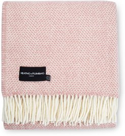 Evening Tales Pure New Wool Blanket - Pink