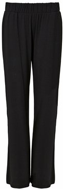Palazzo Trousers With Lenzing™ Ecovero™ - Black